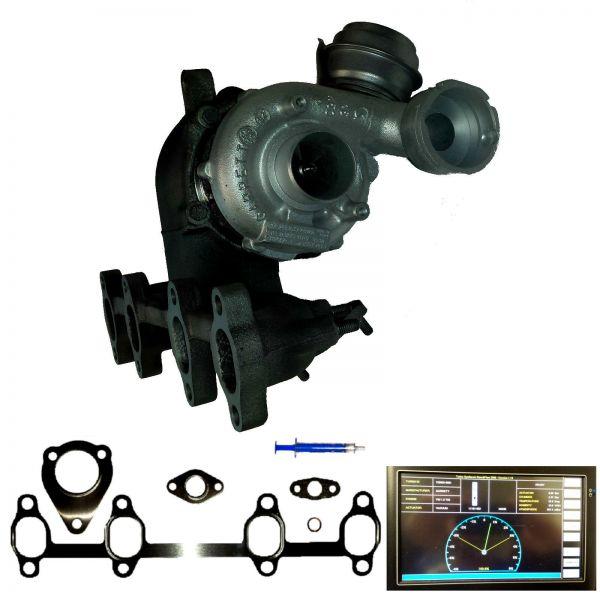 Turbolader AUDI SEAT SKODA VW 1.9TDI 96kW 130PS ASZ 720855 038253016F