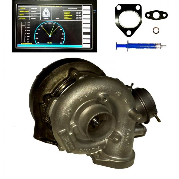 Turbolader ABGAS TURBO LADER BMW 530d 730d 160kW 218PS, 725364