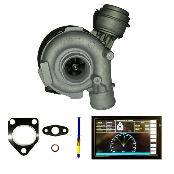 Turbolader ABGAS-TURBO-LADER BMW E38 E39 530d / 730d 135kW 184PS 142kW 193PS