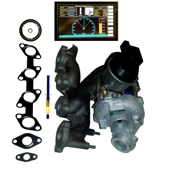 Turbolader Audi Skoda VW 2.0 TDI 81 100 103 105 KW,110 136 140 143 PS BV43B-0139