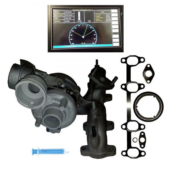 Turbolader AUDI SEAT SKODA VW 1.9 TDI 66, 77, 74 KW AVQ BLS BKC BRU BXE BXF BJB