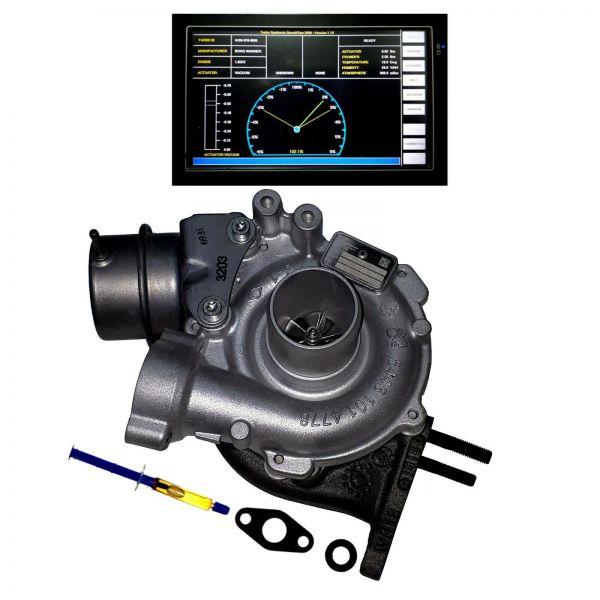 Turbolader NISSAN OPEL RENAULT 1.6dCi CDTi, MERCEDES C180 200 BlueTEC/d 66-100kW