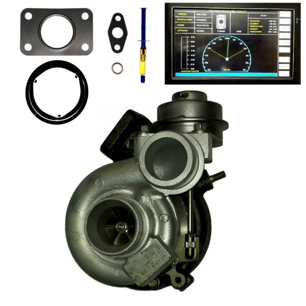 TURBOLADER VW Crafter 30-35 30-50 2.5 TDI 100KW 136PS 120KW 163PS