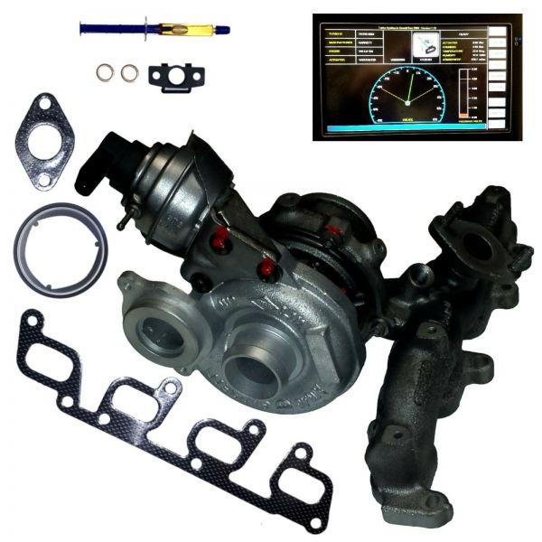 Turbolader VW MULTIVAN V T5 2.0 TDI 84 102 114 136 140 PS,62 75 84 100 103 KW