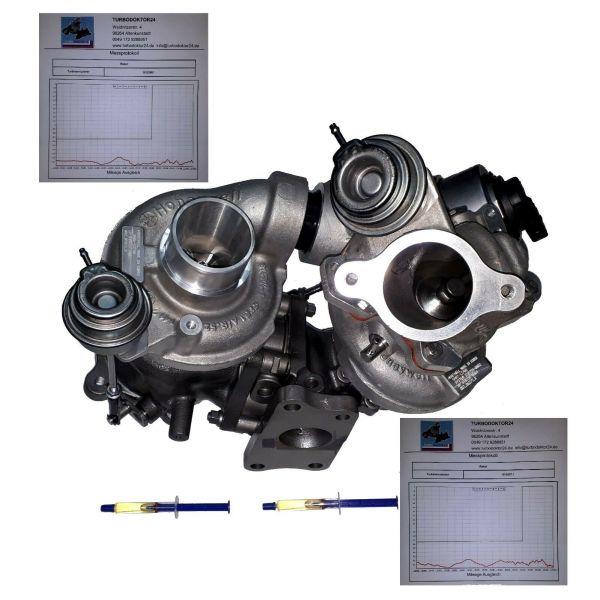 Turbolader, Bi-Turbo Mazda 3, 6, CX-5 / 2.2D, 110 129 Kw, 810357, 810356, 810358
