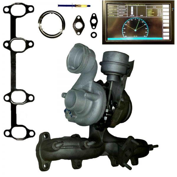 Turbolader VW T5 1.9 TDI 63 77Kw 85 105 PS 038253019J AXB AXC 54399880020