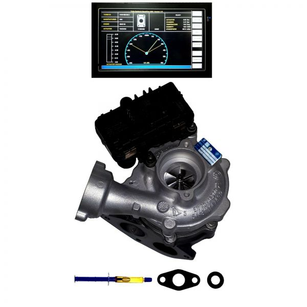 Turbolader kleine Stufe BMW 3, 4, 5, 6, 7, X3, X4, X5, X6 , xDrive, 225, 230 Kw