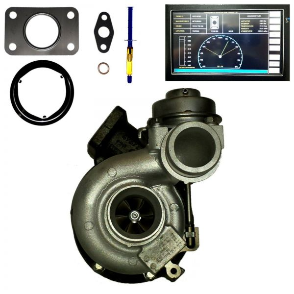 TURBOLADER VW Crafter 30-35 30-50 2.5 TDI 65KW 88PS 80KW 109PS