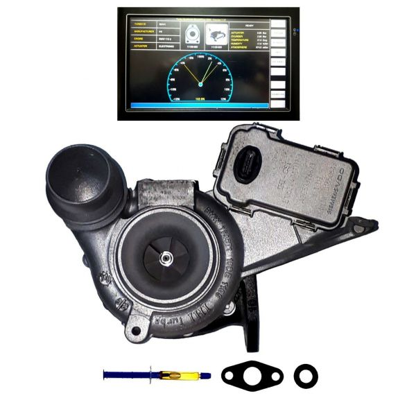 Turbolader BMW 116 118 316 318 X1, 85 100 105 KW, 116 136 143 PS 11658506722