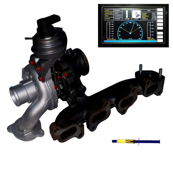 Turbolader VW Crafter Amarok 2.0TDI, 90 100 103 kW, 122 136 140 PS 03L253014C